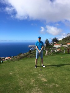 Rob Stinson at Palheiro Golf
