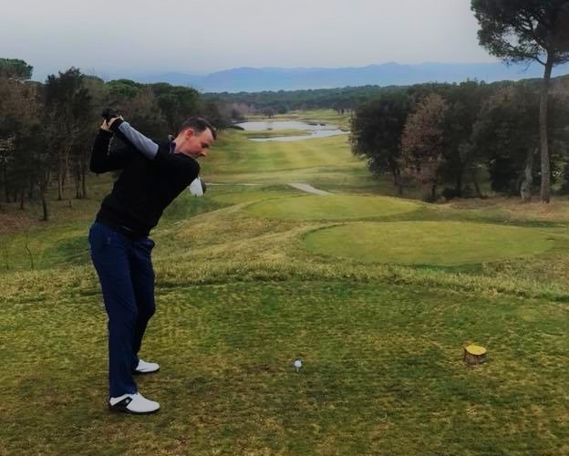 Rob Stinson PGA Catalonia