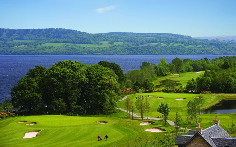 Cameron House Golf scotland golf breaks