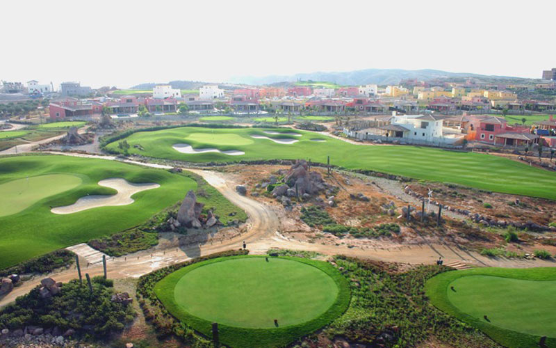 Dessert Springs Golf Almeria costa calida golf holidays
