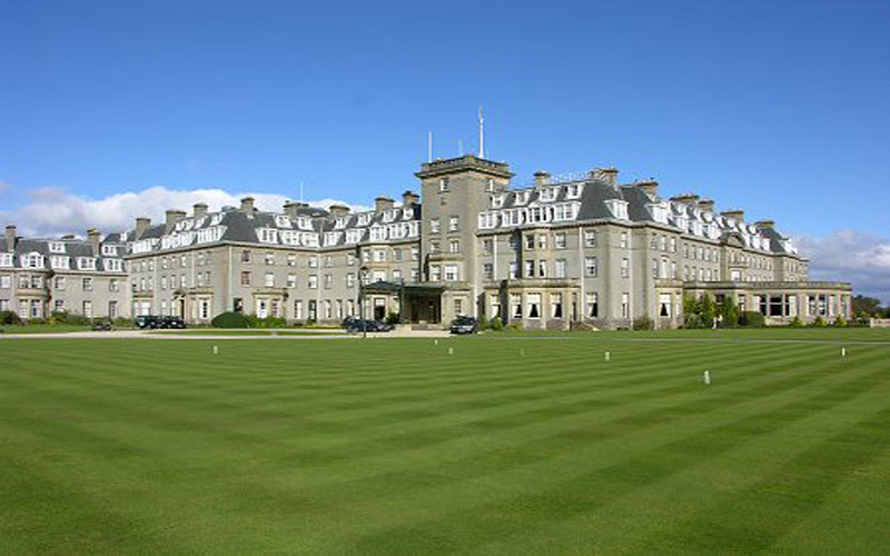 Gleneagles Golf Hotel scotland golf breaks