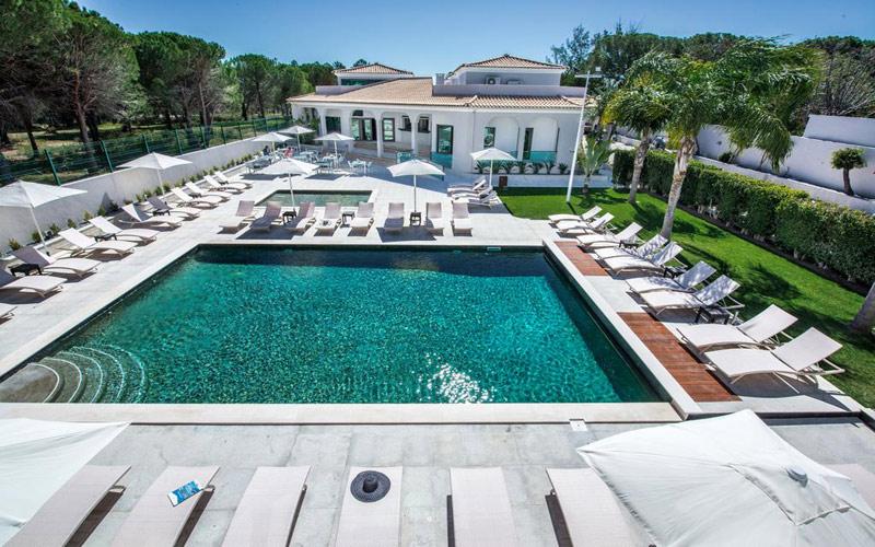 Magnolia Hotel Algarve vale do lobo golf breaks & quinta do lago golf holidays