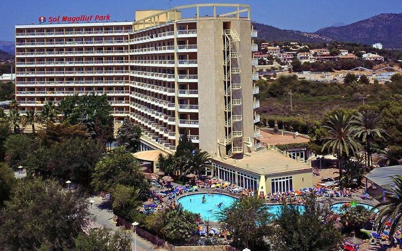 Sol Magaluf Park Hotel golf holidays in mallorca spain