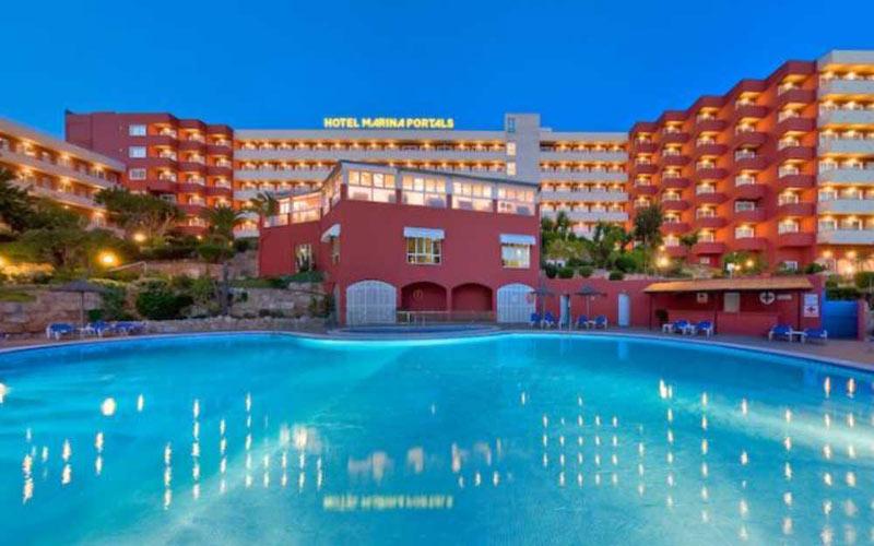 Hotel Marina Portals Nous golf holidays in mallorca spain