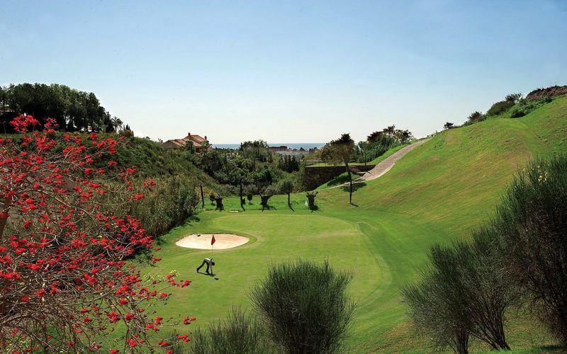 Los Flamingos Golf Course Spain