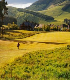 Cardrona Golf Course 1st