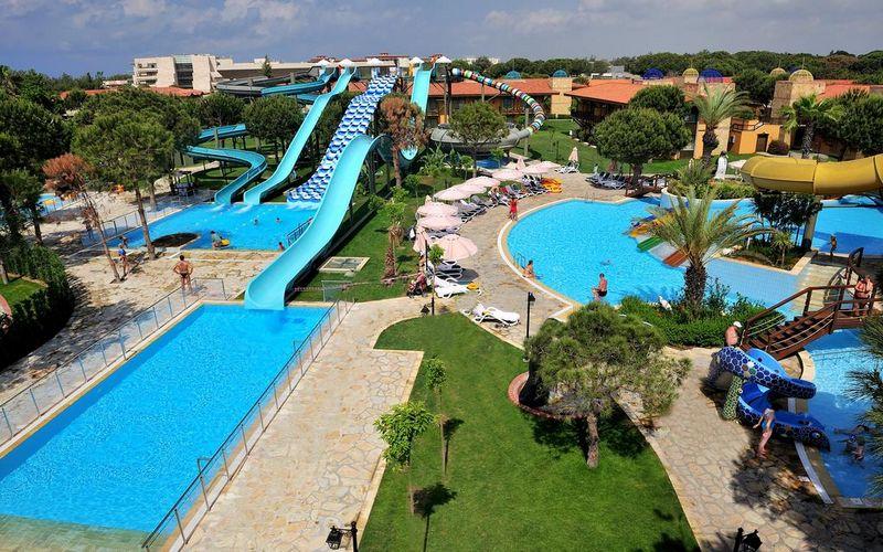 gloria golf hotel slides turkey