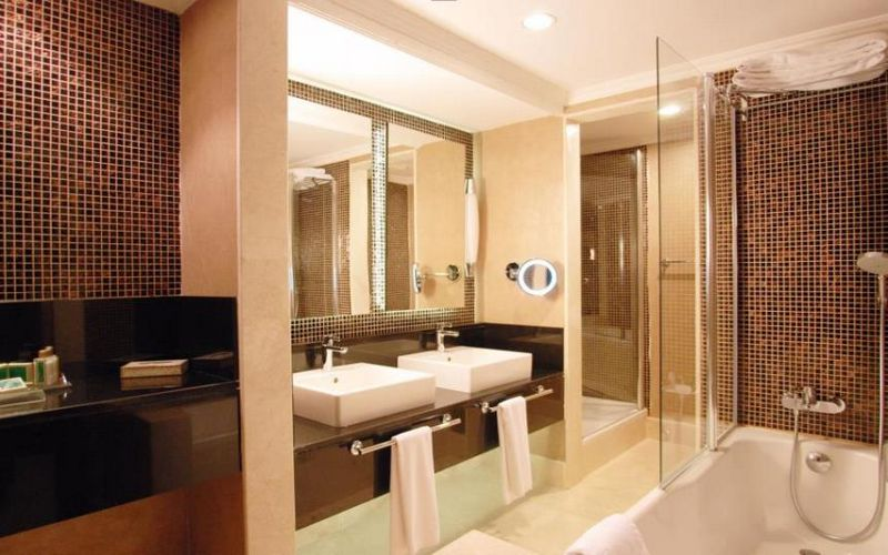 sirene golf hotel bathroom turkey