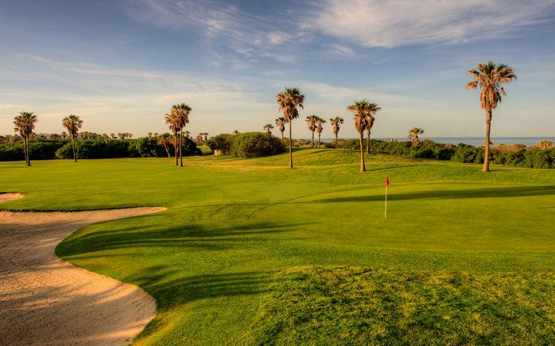 barcelo costa ballena golf course 12th green