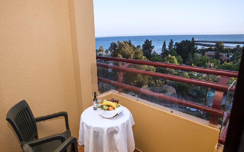 Dom Pedro Marina golf hotel balcony