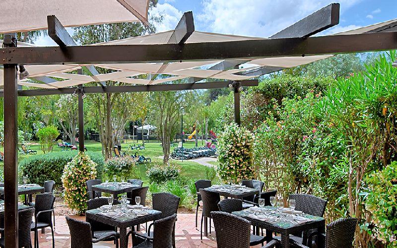 Dom Pedro Vilamoura golf hotel restaurant terrace