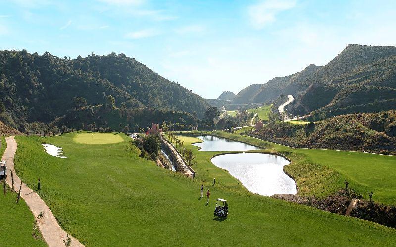 Villa Padierna Golf Club Spain Alferini panoramic