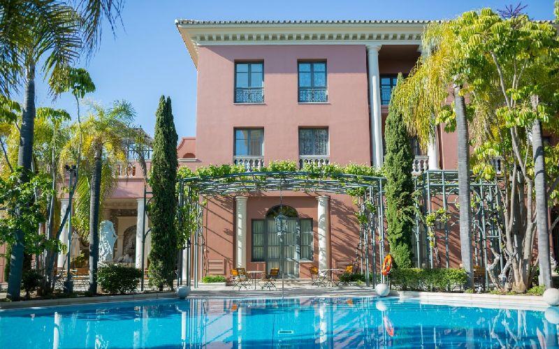 Villa Padierna golf resort pool