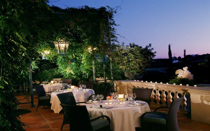 Villa Padierna golf resort terrace