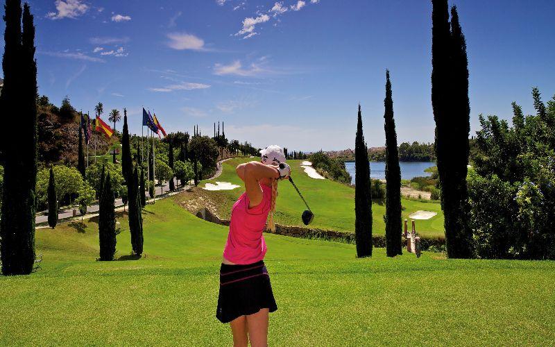 villa padierna golf resort flamingos 1st tee