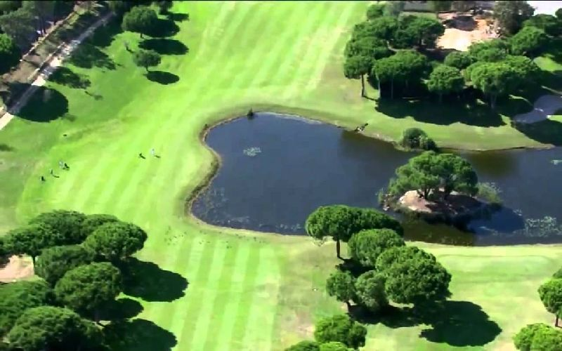 pestana vila sol golf course aerial