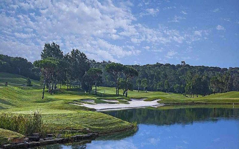 quinta do lago laranjal golf course water