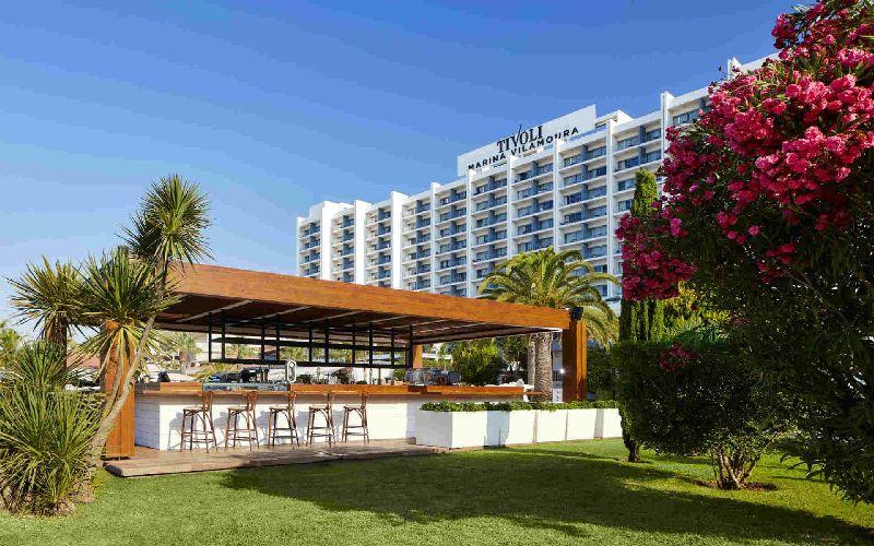tivoli marina vilamoura golf hotel pool bar