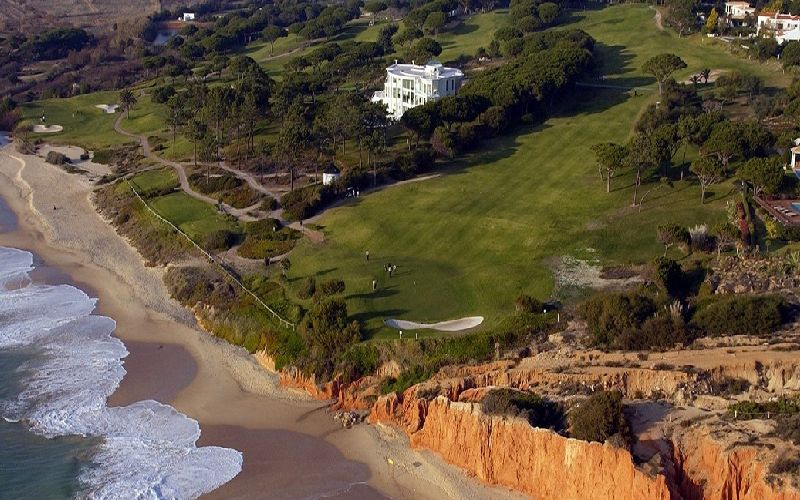 vale do lobo ocean golf course coast