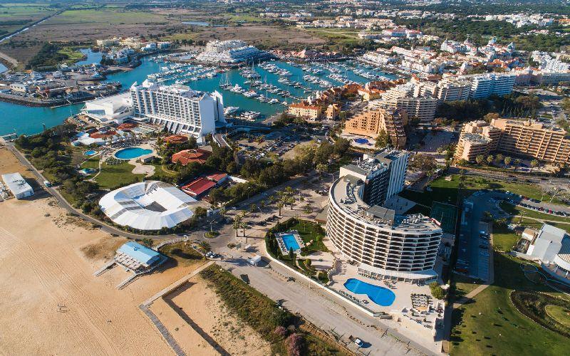 vila gale ampalius golf hotel aerial
