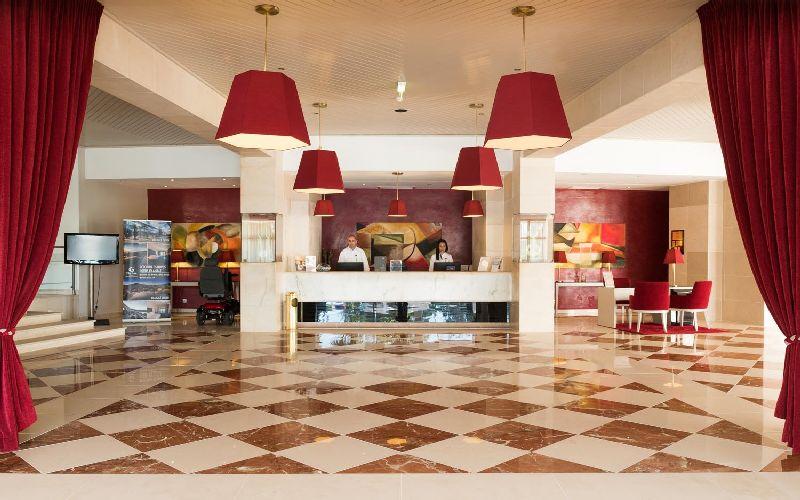 vila gale ampalius golf hotel reception