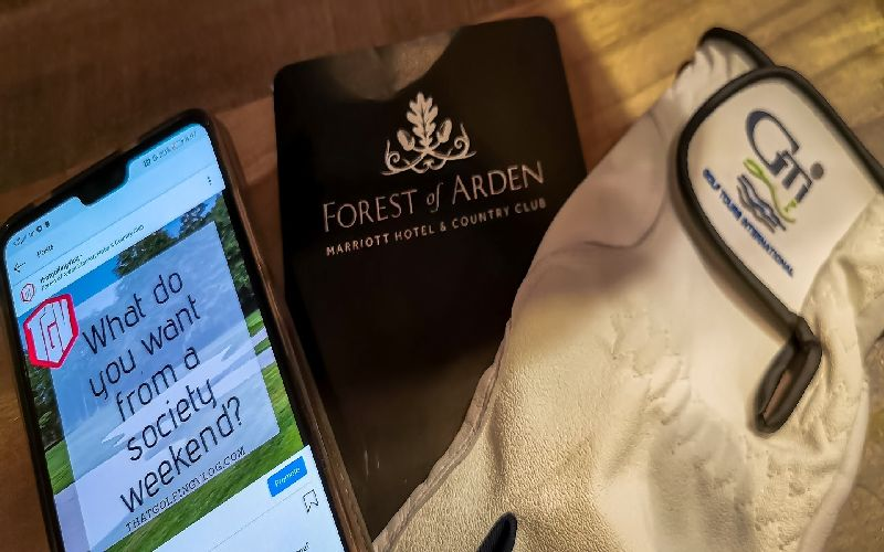 Forest of Arden Golf Course Glove