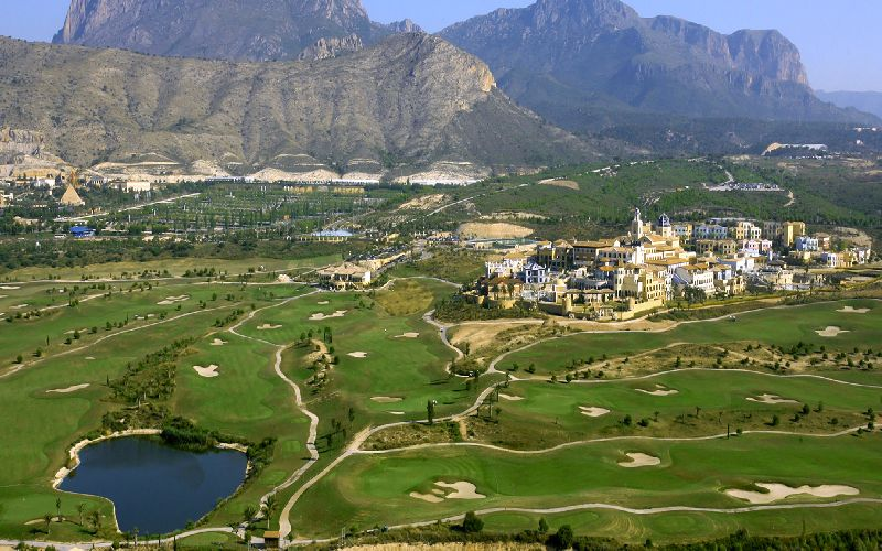 Melia Villaitana Golf Aerial Costa Blanca