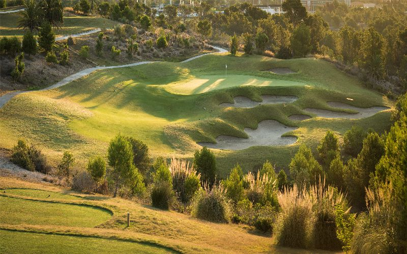 Melia Villaitana Golf Levante 12th hole Par 3