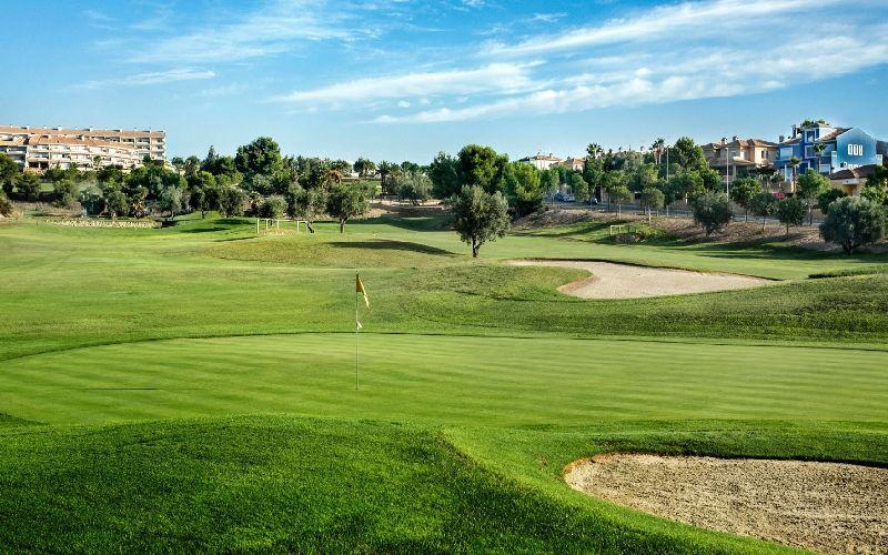 alenda golf course green