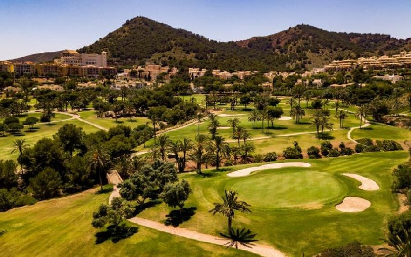 las lomas village la manga golf course