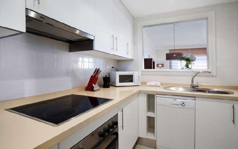 roda golf & beach resort kitchen