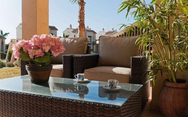 roda golf & beach resort terrace