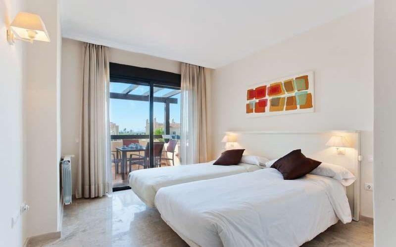 roda golf & beach resort twin room
