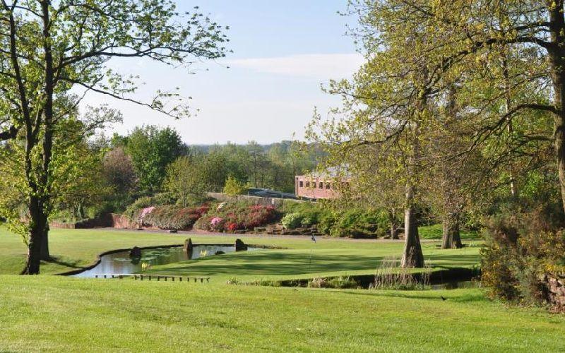 macdonald portal golf resort course stream