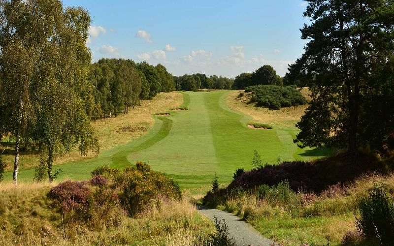 delamere forest golf course fairway cheshire classics