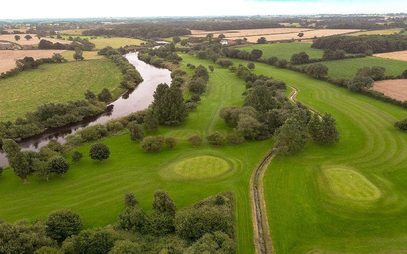 aldwark manor golf course fairway