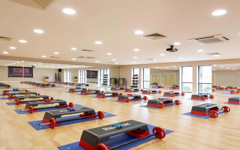 forest pines golf resort gym