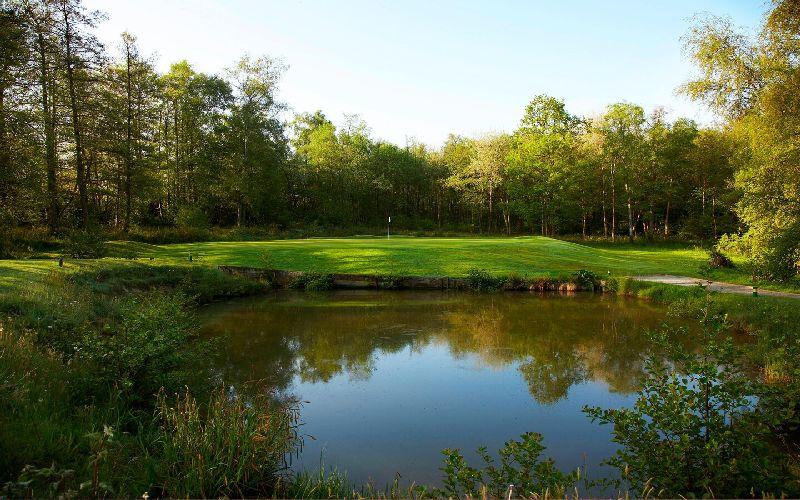 lingfield park golf course lake