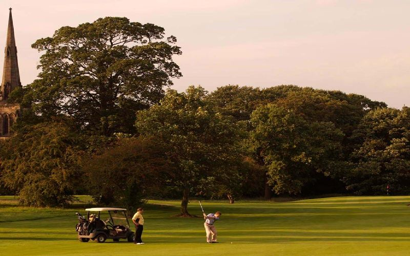 oulton hall golf calverley course church