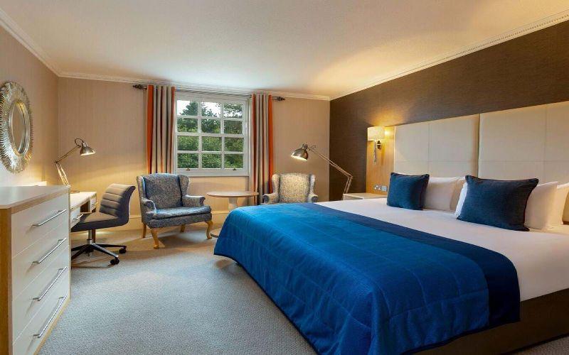 oulton hall golf resort bedroom