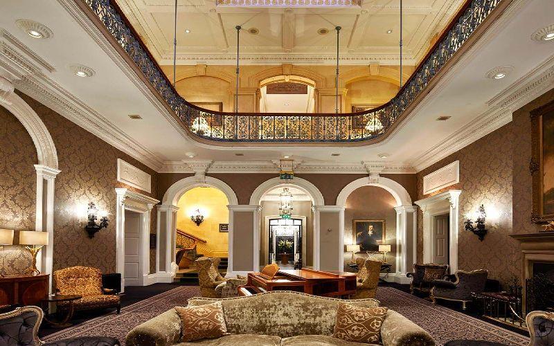 oulton hall golf resort foyer
