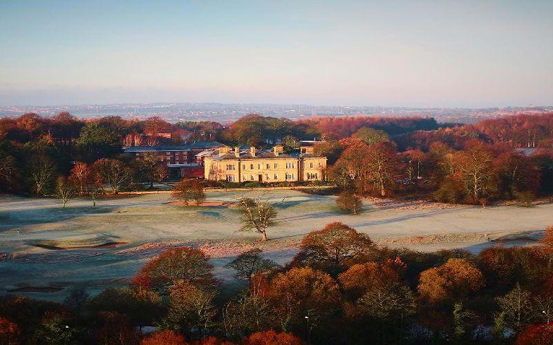 oulton hall golf resort frosty