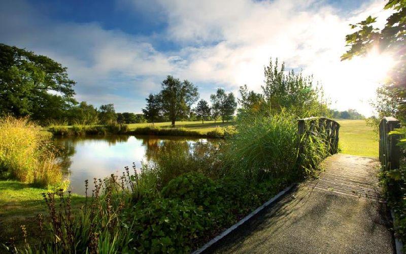 sandford springs course bridge