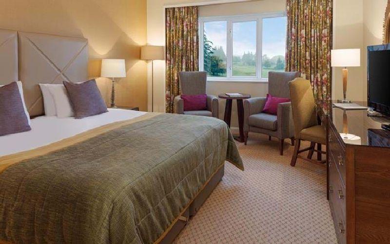 slaley hall golf resort bedroom