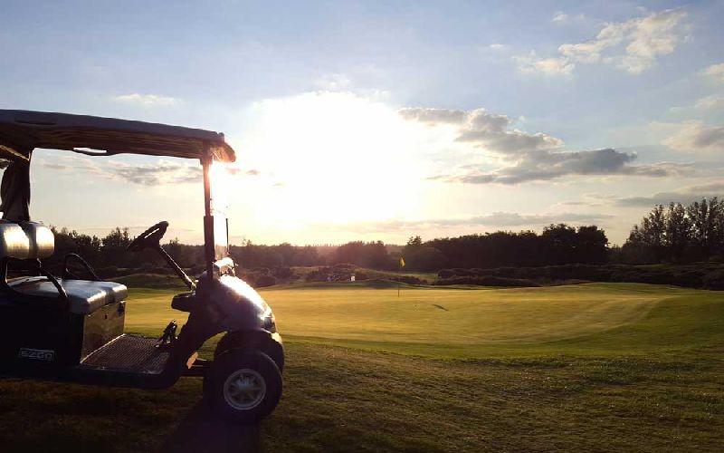 the dorset golf course buggy