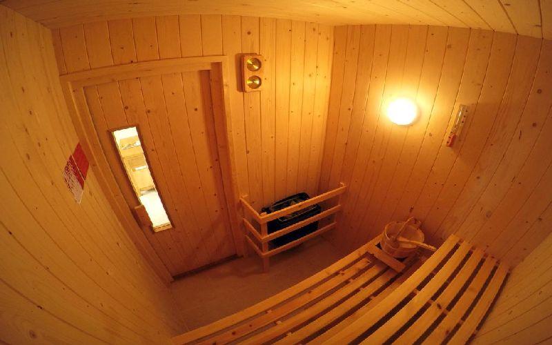 the dorset golf resort sauna