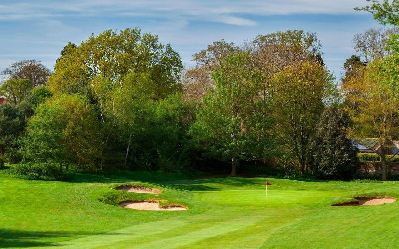tudor park golf course bunker