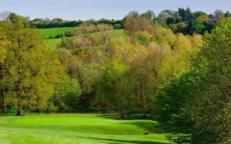 tudor park golf course fairway