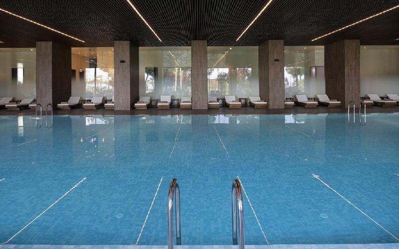 voyage belek golf hotel indoor pool