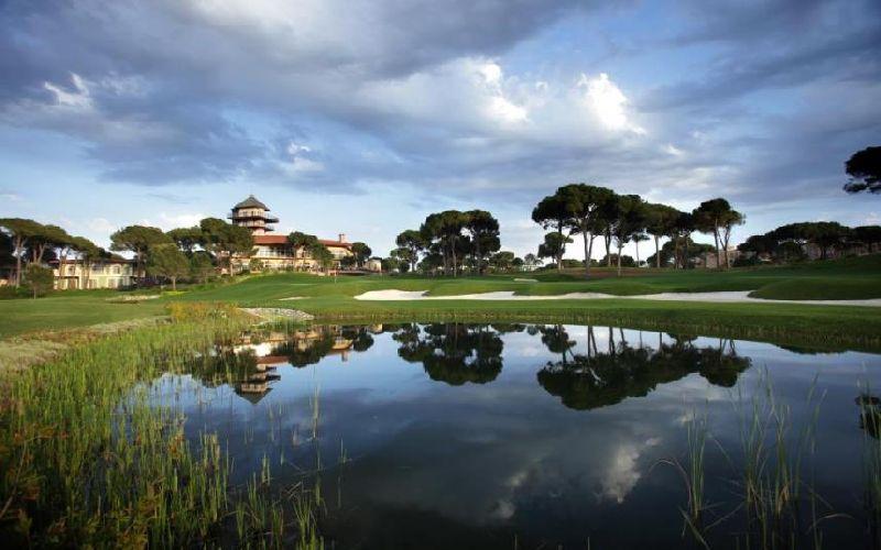 voyage belek golf hotel montgomerie course lake